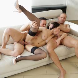Pornstar Kristall Rush 3some Porn - pics 08
