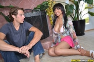Jade Aspen Shiny Boobs Porno - pics 00