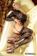 Pornstar Armie Field Black Lace - pics 10