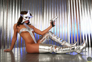 Silver Star Stephy - Shiny Boots - pics 04