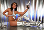 Silver Star Stephy - Shiny Boots - pics 05