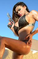 Pornstar Armie Field Shiny Body - pics 14