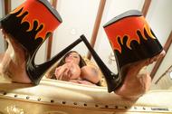 Goddess Armie Field Oiled Boobs - pics 10