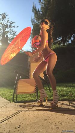 Busty Armie Field Celebrity Goddess - pics 14
