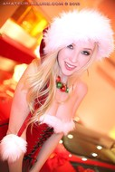 Santas Helper Trio POV Sucking - pics 04