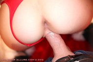 Santas Helper Trio POV Sucking - pics 17