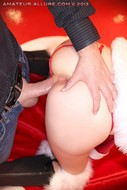 Santas Helper Trio POV Sucking - pics 18