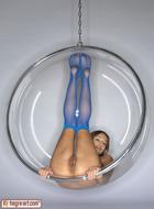 Sexy Teen Dominika Blue Stockings - pics 10