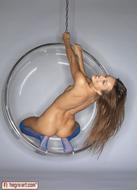 Sexy Teen Dominika Blue Stockings - pics 12