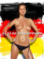 Nudes Supporting The World Cup - pics 05