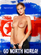 Nudes Supporting The World Cup - pics 10