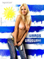 Nudes Supporting The World Cup - pics 13