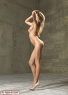 Blonde Erica F Magenta Bikini - pics 14