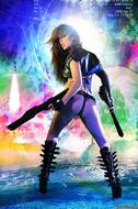 Busty Hana Black Crazy Amazon - pics 03