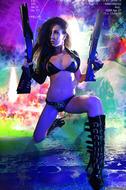 Busty Hana Black Crazy Amazon - pics 05