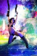 Busty Hana Black Crazy Amazon - pics 06