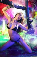 Busty Hana Black Crazy Amazon - pics 07