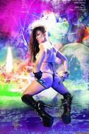 Busty Hana Black Crazy Amazon - pics 10