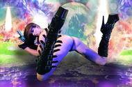 Busty Hana Black Crazy Amazon - pics 11