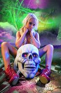 Horny Blond Denise Skull Island - pics 07