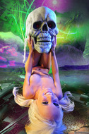 Horny Blond Denise Skull Island - pics 09