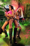 Charley VS Brooke C Juicy Boobs - pics 01