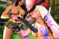 Charley VS Brooke C Juicy Boobs - pics 06