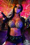 Busty Ebony Action Girl Monique - pics 02