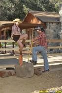 Horny Cowgirl Getting Banged Hard - pics 05