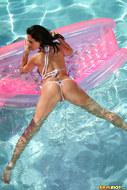 Laura Lee Blue Bikini Pleasure - pics 08