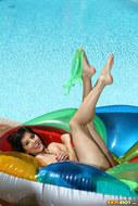 Sunny Leone Sheer Green Bikini - pics 06