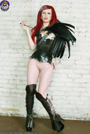 Redhead Gothic Beauty Evil Cunt - pics 08