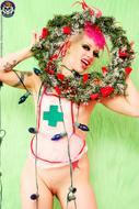 Roxy Contin Tattooed Christmas Babe - pics 10