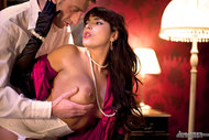Elegant Busty Whore Getting Banged - pics 05