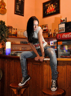Dawn Avril Perfect Teasing in a Bar - pics 02