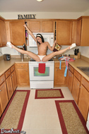 Dawn Avril Perfect Teasing in the Kitchen - pics 01