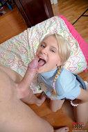 First Anal Sex Pigtailed Teen Karoll - pics 14