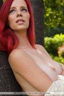Beautiful Busty Redhead Girl Ariel Gallery - pics 00
