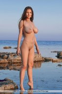 Beautiful Busty Model Sofi Seaside - pics 08