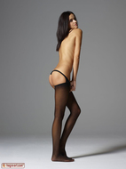 Gloria in Pantyhose Hot Stripping - pics 01