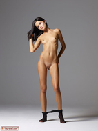 Gloria in Pantyhose Hot Stripping - pics 10
