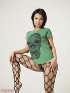 Maria Ozawa Luba Skull T-Shirt - pics 00
