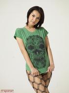 Maria Ozawa Luba Skull T-Shirt - pics 02