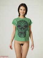 Maria Ozawa Luba Skull T-Shirt - pics 17