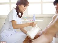 Sexy Asian Girl Miri Shaving Anri - pics 01