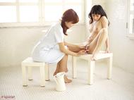 Sexy Asian Girl Miri Shaving Anri - pics 09
