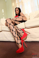 Stunning Audrey in Foot Play - pics 04