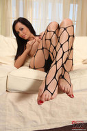 Stunning Audrey in Foot Play - pics 10