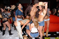 Sexy Cowgirls Banging Wild in the VIP - pics 09