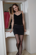 Sophie Strauss Ripped Pantyhose - pics 00